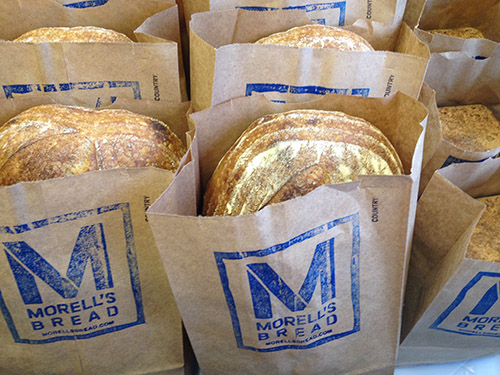 Store your loaves in paper bags or freeze them in foil, no plastic, no fridge!